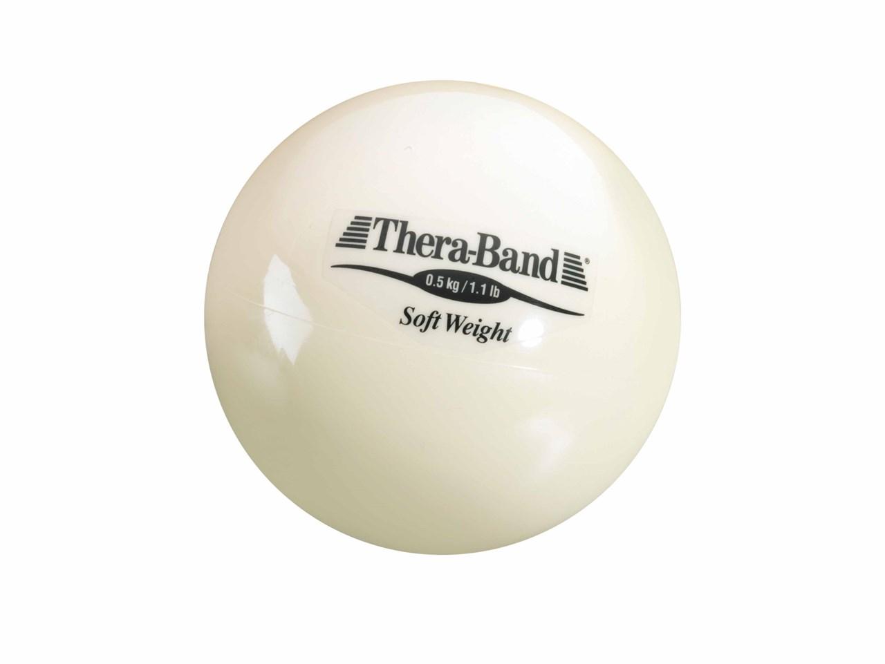 Farbe: schwarz Thera-Band® Gewichtsball Soft Weight Functional Training Reha.