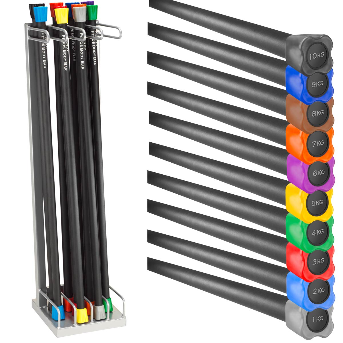 Jk Sportvertrieb Profi Shop Trendy Pesos Body Bar Praktisches Und Vipr 10 Kg Bild Von Gewichte 1