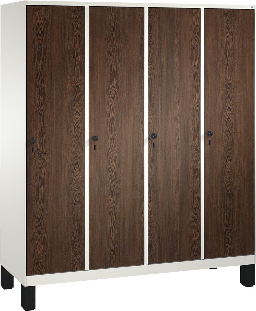 Exquisit Garderobenschrank Groß Beste Wahl Bild Von Einteilig, 4 Fach S3000 Evolo