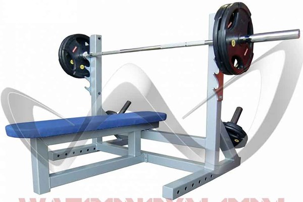 Bild von Watson Animal Flat Bench with Extending Bar Catchers