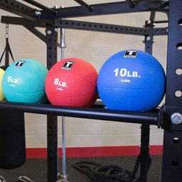 Bild von Hexagon Rack Medicine Ball Tray