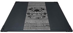Bild von ATX Weight Lifting Platform Barbell Club Wood Grey