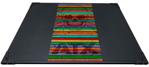 Bild von ATX Weight Lifting Platform Skull Wood Colorful