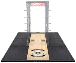 Bild von ATX® Weight Lifting / Power Rack Platform XL 3 x 3 m Barbell Club Logo